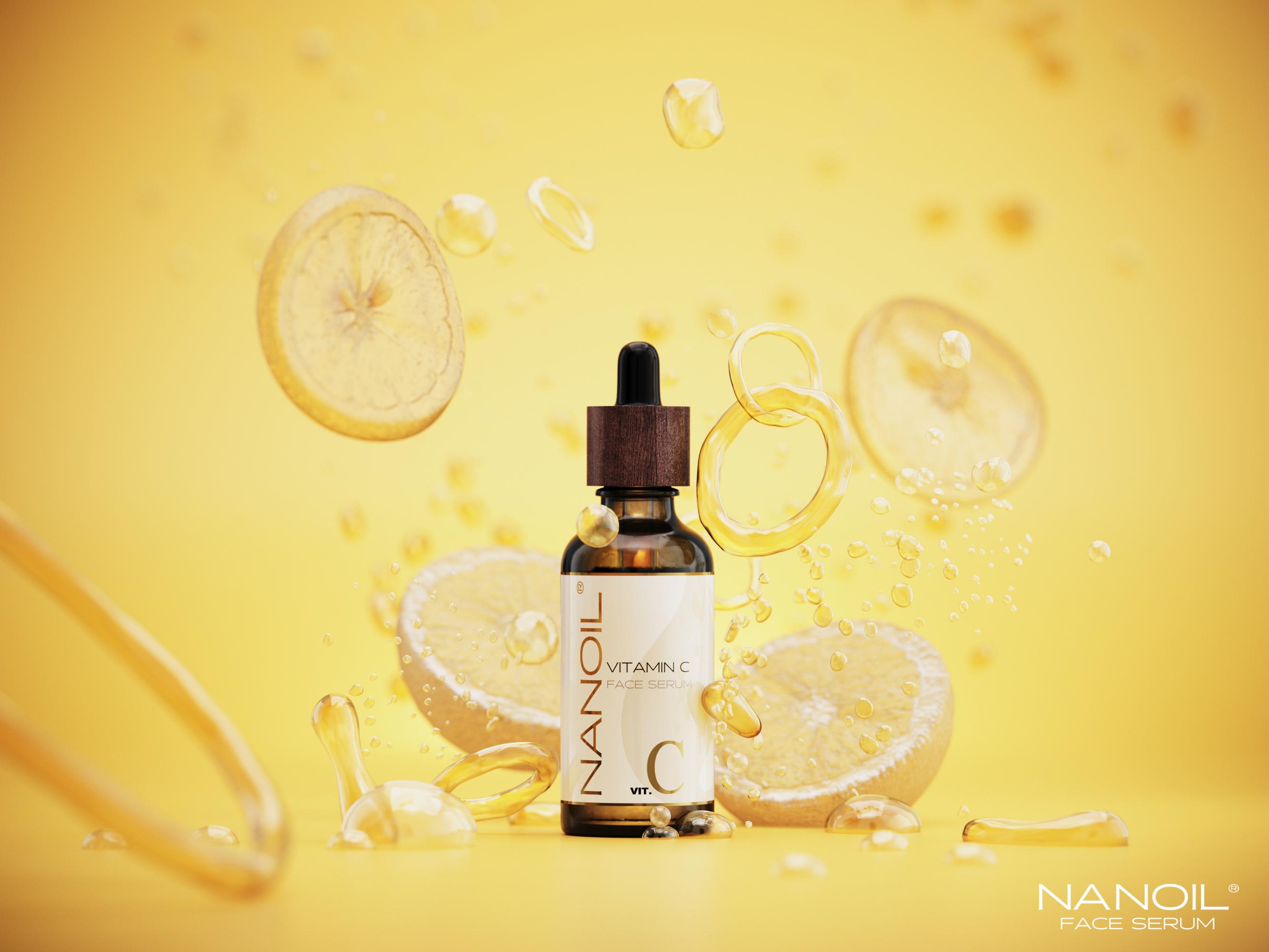 kedvenc arcszérum C-vitaminnal Nanoil